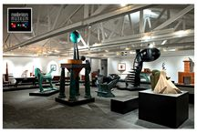Modernism Museum Mount Dora / Modernism Museum Mount Dora (3MD) features the works of forward-thinking artisans and craftsmen.  The Museum is dedicated to celebrating creativity and ideas that break from tradition in a lively way!