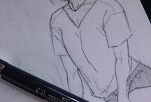 My drawings ✏ / #anime #sztuka #yaoi #art #manga #derp #random