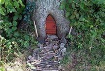 drzwi do domku skrzata