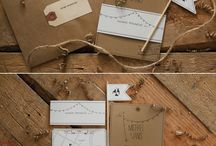Wedding invitation - Rustic