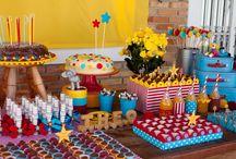 idéias para festa tema circo / by Vanessa Vicentin