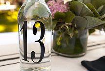 Pöytänumerointi - Table numbers
