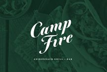 Campfire Adirondack Grill + Bar / Inspired by the fabled Adirondack Great Camps that the Vanderbilts and other Gilded Age royalty called their summer homes, Campfire Adirondack Grill + Bar will combine a warm, sophisticated atmosphere with a deep appreciation for our Adirondack heritage.