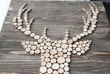 Idées déco avec bois
