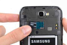 Utskifting av Samsung Galaxy Note 2 microSD-kort