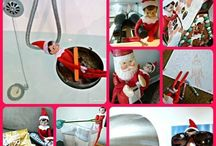 Elf on a shelf ideas. Can't wait to do that this year :) / by Jennifer Hensel