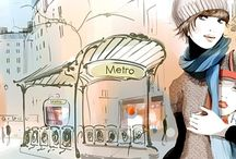 Sophie Griotto / The French illustrator with a wonderful feeling for beauty and atmosphere