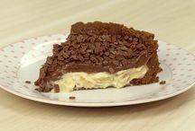 Torta de limão c chocolate