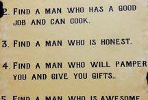 Quotes - Men humour