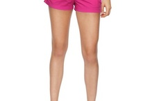 pink shorts board