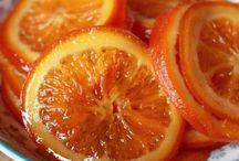 Naranja confitada,