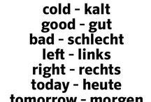 Deutsch für mich / German words
