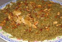 Arabic food and desserts