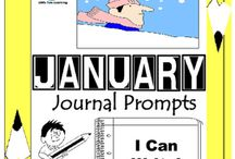 January Writing Prompts Quick Writes / January Writing Prompts Quick Writes. Creative writing prompts for everyday in the month of January. ***************************************************************************** Though your students may not have highly developed writing skills to express their thoughts, they do have bright imaginations filled with all sorts of creative ideas. *****************************************************************************