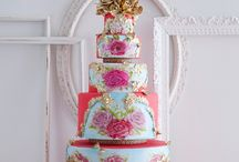 Wedding cakes, cupcakes, cookies, sweets, ... inspiration