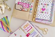 Planner and supplies