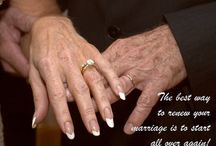 Renew your vows!   / Renewing your vows can be the most rewarding thing you can do for your marriage!