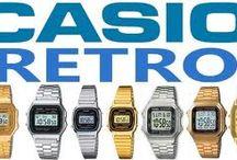 Casio Retro horloges / Casio Retro horloges | Retro horloges | Retro watches | Casio retro uurwerk