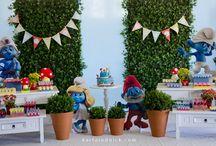 Festa Os Smurfs