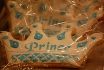prince birthday party silver
