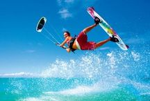 Kitesurfing / Kitesurfing or kiteboarding articles and images. / by Brendon Held