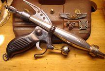 Armes steampunk
