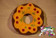 donut pillow / cuscini a forma di donut