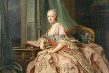 1750's women