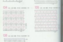 カギ編み パターン
