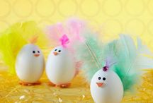 Ovos de galinha decorados animais