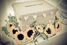 Rustic Sunflowers, Lace and Sunshine - Carys Wedding ideas / My niece gets married in Australia in 2017 so this board is to be filled with ideas on how to decorate her reception venue.