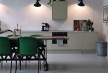 Kök - Släta Luckor / Kök och köksluckor tillverkade av Novaflex Inredningar AB i ett slätt utförande.