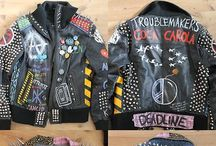 DIY Punk / Patches, tartar shit, badges, DIY, punk related