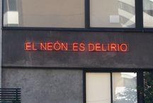 Neon art; / Word's neon