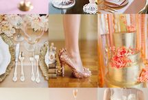 Mixing Peach & Gold!