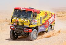 KM Racing Team 2014-2015 / Completely new designs and wraps for Rally Dakar 2014, branding of the entire fleet and team. Redesign and wraps for Rally Dakar 2015.