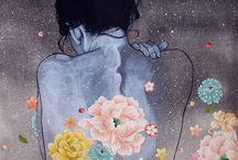 fragrant flower art sensual pretty