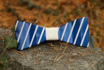 Metal bow ties