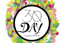 30 DAY CHALLENGE / A 30 day Challenge to draw one thing for 30 days!