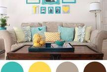 Combinações de cores para casa