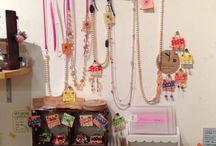 HeartLingo Original Accessory / 佐合井マリ子が作るオリジナルアクセサリー♡ ライブ会場で販売もしていますʕु•̫͡•ʔु ✧