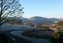 Frosty Morning in the Derbyshire Peak District.