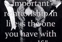 QUOTES / My favorite quotes related to fashion or fashionable personalities