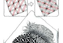 Zentangle How to step by step
