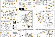 06-10 Jeep Commander Parts Diagrams / by Morris4x4Center.com