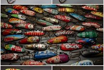 Collectables + Fishing Lures / by Bonka Perry
