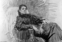 Ilya Repin, Figura y retrato