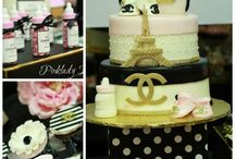 coco chanel baby shower