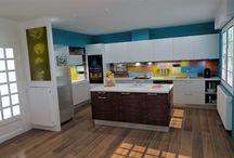 The kitchen - seriously / The kitchen as it really is / la cuisine telle qu'elle est
