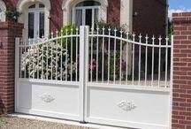 portail clôture